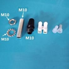 10 шт./лот 10 15 20 25 мм лампа зуб трубки, провода кабельный разъем DIY светильник
