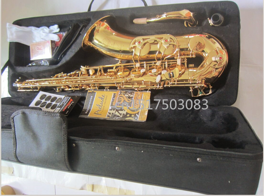 tenor saxophone 2017 Hot selling High quality Selmer tenor SAX R54 professional BB gold Free shipping saxophone Instruments tenor saxophone high quality selmer tenor sax bb 54 professional reference sax bronze musical instruments