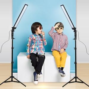 Image 5 - GSKAIWEN 180 LED Light Photography Studio LED Lighting Kit Adjustable Light with Light Stand Tripod Photographic Video FillLight