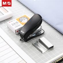 Kawaii Cute Mini Book Stapler Staples Set 24/6 Staple Metal Safe Paper Stapling Machine Office Binding Supplies ABS92633