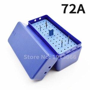 Image 2 - Caixa endodontia de plástico para esterilizar 72 furos, caixa autoclavável