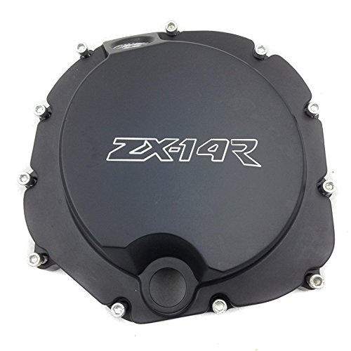 For Kawasaki ZX14R ZZR1400 2006 2007 2008 2009 2010 2011 2012 2013 2014 ZX-14R Motorcycle Engine Stator cover Right Side Black motorcycle aluminum headlight grill cover case 5 3 4 black for harley xl883 04 05 2006 2007 2008 2009 2010 2011 2012 2013 2014