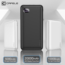 CAFELE 3 Style Ultra thin Power Bank for iPhone Samsung Xiaomi Huawei Universal Portable Charger Dual USB Type C Triple output pg 1 universal dual usb 14000mah portable power bank for ipad iphone samsung more blue