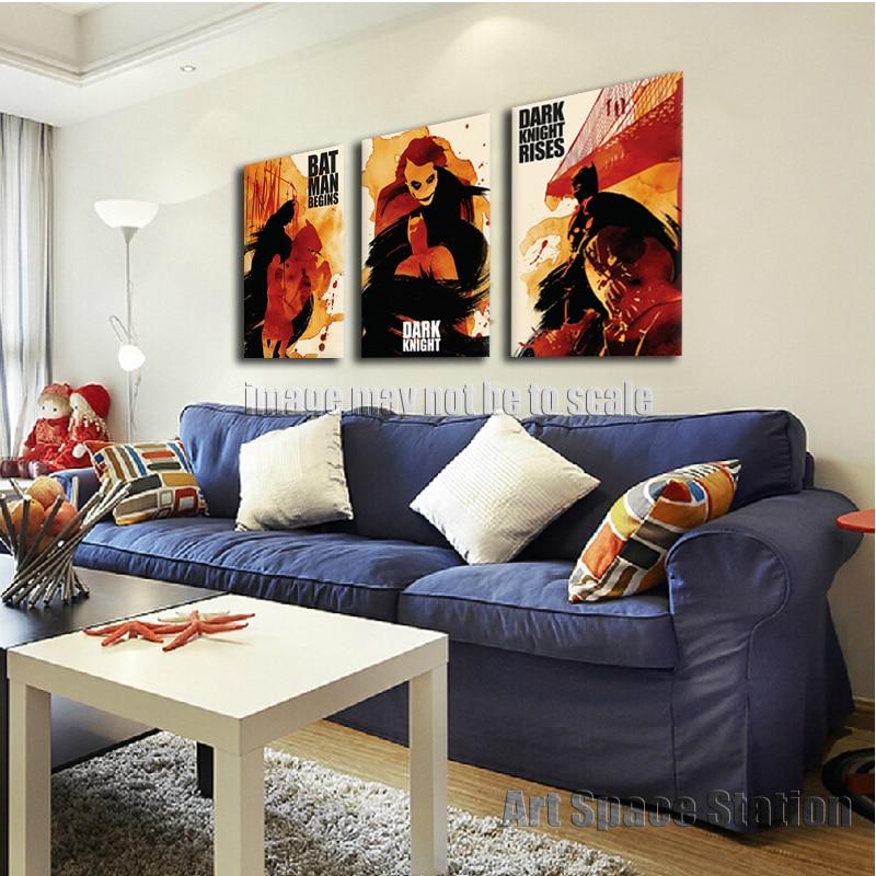 ... Room Rug Batman Living · Aliexpress No Frame Dark Knight Batman  Painting Print On Canvas Comics Movie Poster Modern Canvas Wall ... Part 93