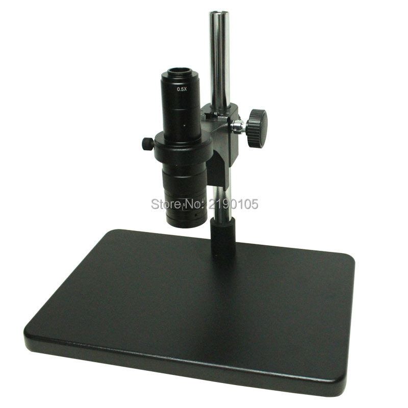 Big Size Heavy Duty Adjustable Boom Large Stereo Arm Table Stand Holder For Lab Industry Microscope Camera+10-180X C-MOUNT Lens ccd industrial camera holder up and down regulation digital industry lab 40mm monocular microscope lens table stand fixed holder