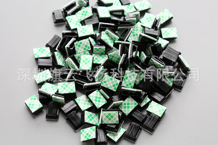 1000pcs lot Car line card fixed line folder driving recorder wiring deduction 3M adhesive fixed line