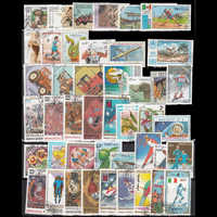 500 PCS World Wide Used and Unsed Postage Stamps For Collection post stamps sells stampel