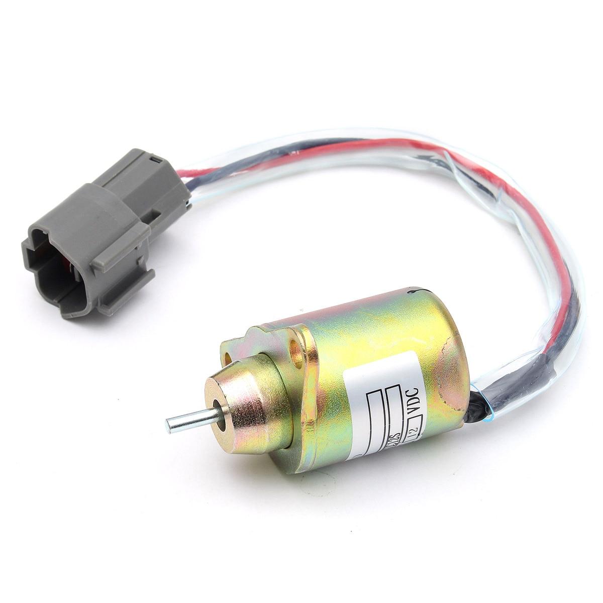 Energetic Solenoid Relay Fuel Shutdown Shut Off Solenoid For Yanmar 119233-77932 John Deere Tractor Atv Parts & Accessories Atv,rv,boat & Other Vehicle