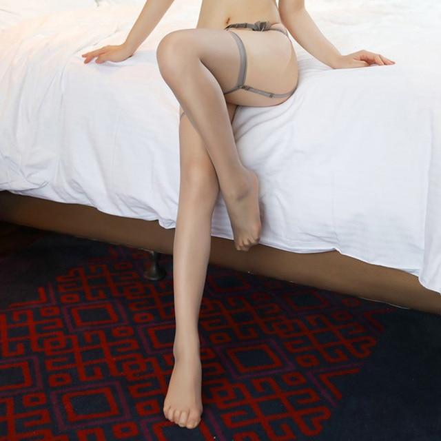 Rib Top Dij Hoge Kousen Vrouwen Erotische Sexy Lingerie Elastische Kous Ultra Dunne Medias Mujer Chaussette Haute