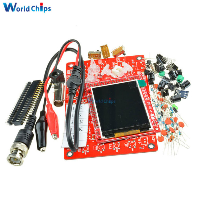"""DSO138 Digital Oscilloscope DIY Kit 2.4 """"tft DIY Parts for Oscilloscope Making Electronic Diagnostic-tool Learning Set"""