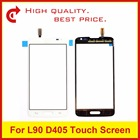 "High Quality 4.7"" For LG L90 D405 D415 Dual L90 D410 Glass Lens Touch Screen Digitizer Sensor Outer Panel Black Tracking Code"