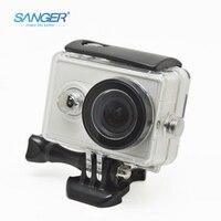 SANGER For Yi Accessories Waterproof Case Aee Xiaoyi Camera 40M Diving Sports Waterproof Box For Xiaomi