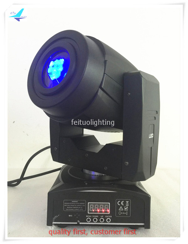 free shipping 4pcs/lot 60w Stage Mini Gobo BeaM Moving Head Light Lyre LED Spot DJ Disco DMX Colorful Pattern 3 Prism Lighting 4pcs lot 30w led gobo moving head light led spot light ktv disco dj lighting dmx512 stage effect lights 30w led patterns lamp