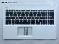 Hb teclado hebraico para asus x551 x551c x551m x551s branco e preto com disposição superior do hb do descanso de mãos|Teclado de substituição| |  -