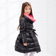 Children Winter Jackets for Girls Winter Long Slim Duck Down Clothing Winter Girl Thick Coat  Princess Girls Winter Jacket Parka