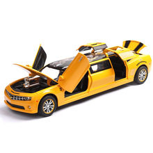 1:32 hornet extended version of the alloy car model toy sound and light door simulation force control decoration gift