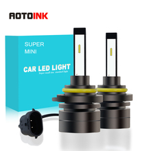 H4 H7 HB4 H11 HB3 H1 Car LED Headlight Bulbs 60W 9005 H8 H27 H3 9006 H13 5202 CSP Super Mini Fog Light Headlamp 6000K 12V 8000LM