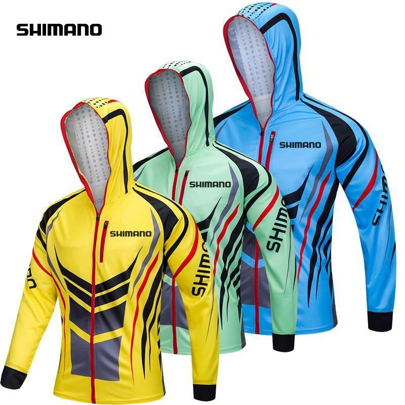 2018 Camo Fishing Clothing Hooded Men Jacket Waterproof Quick-drying Coat Fishing Shirt For Hiking Cycling Fishing Clothes Fishing Apparel