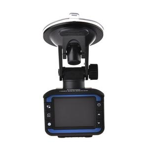 Image 1 - 車 DVR カメラレコーダー 2 1 で駆動レコーダー抗レーザー車のレーダー探知 140 度 HD 720 1080P サポート英語ロシア