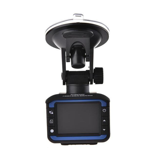 車 DVR カメラレコーダー 2 1 で駆動レコーダー抗レーザー車のレーダー探知 140 度 HD 720 1080P サポート英語ロシア