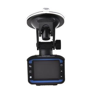 Image 1 - Samochód kamera DVR rejestrator 2 w 1 rejestrator jazdy anty Laser detektor radaru samochodowego 140 stopni HD 720 P wsparcie w języku angielskim rosyjski