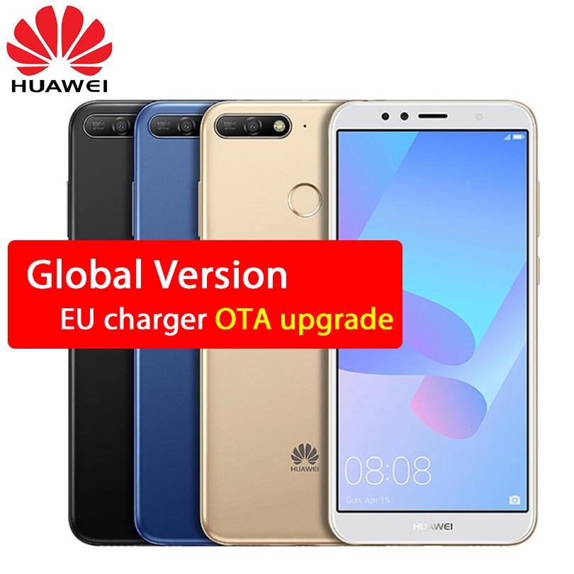 Глобальный Версия Оригинал huawei Y6 prime 2018 2 ГБ Оперативная память 16 ГБ Встроенная память 3000 мАч батареи