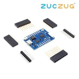 Image 1 - WEMOS D1 Mini Pro 16M байт внешний антенный разъем на основе NodeMCU ESP8266 ESP 8266EX CP2104 WIFI макетная плата Micro USB