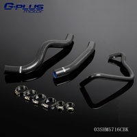 Silicone Radiator Hose Tube Kit For Honda CB600F HORNET 98 02