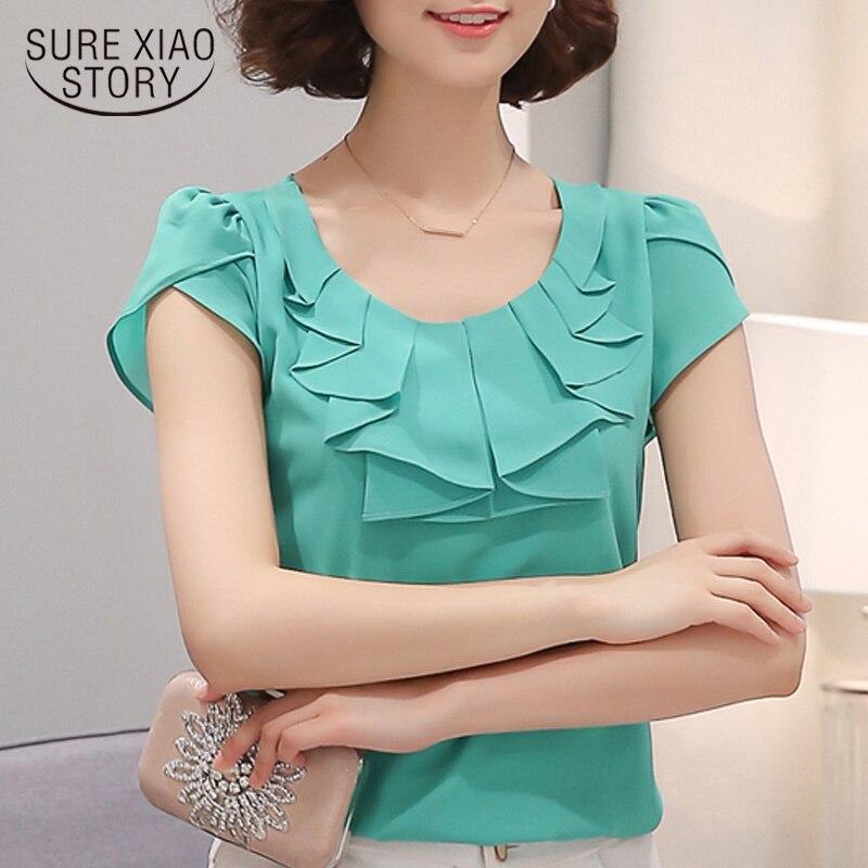 Blusa de mujer camisa de MANGA corta DE Moda blusas ROPA de mujer ROPA Top Nuovo