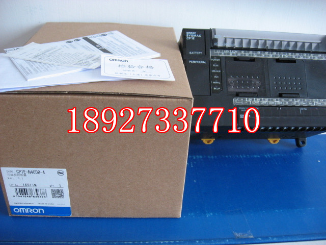 [ZOB] New original omron Omron programmable logic controller relay CP1E-N40DR-A new original 24 di 16 do relay plc programmable logic controller cp1e n40dr a 100 240v