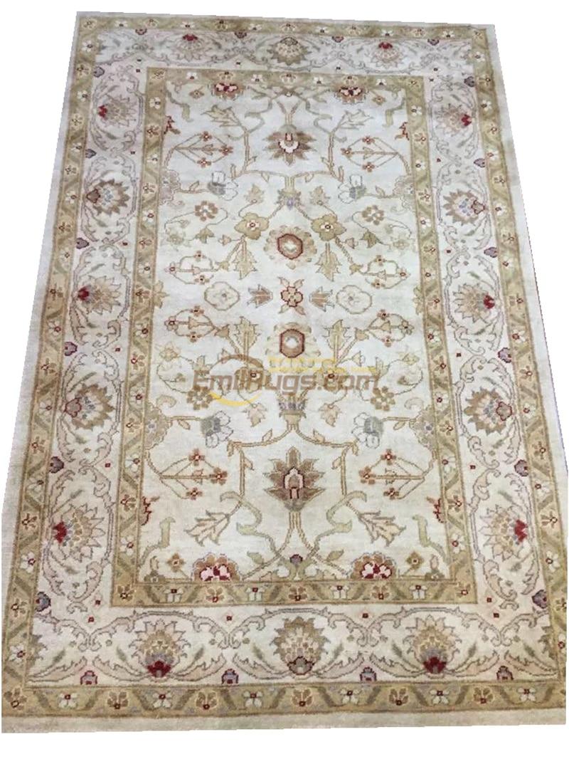 Original unique exportation turc fait main tapis OUSHAK Ozarks pure laine tapis x39-47 4X6-3gc158zieyg14