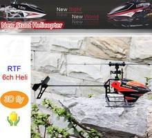 RC Helikopter V933 Flybarless Remote Control RC Drone RTF 6CH 2.4 GHz 3D Terbang dengan LCD v922 V911 diperbarui versi Rendah Mainan anak-anak
