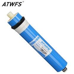 ATWFS Высокое качество 75 gpd RO мембрана обратного осмоса Мембрана система фильтр для воды картридж TFC-1812-75