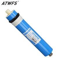 ATWFS wysokiej jakości 75 gpd membrana ro membrana odwróconej osmozy System wkład do filtra wody TFC 1812 75 w Filtry do wody od AGD na