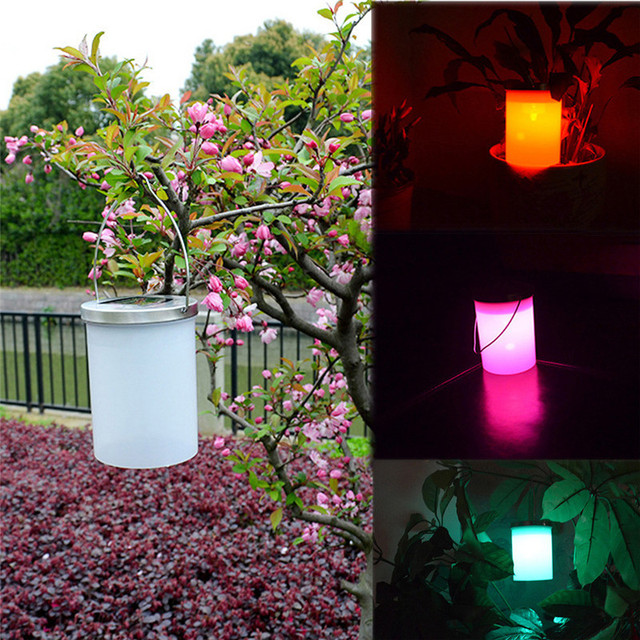 Multicolor solar bucket shape led hanging lamp outdoor chandelier multicolor solar bucket shape led hanging lamp outdoor chandelier garden hanging lights home party wedding accessories aloadofball Gallery