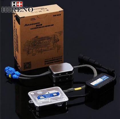 ФОТО Hireno Super-bright car xenon Light ballast For Acura ZDX 2009-2012 Headlight Light Bulb HID Refit 2pcs