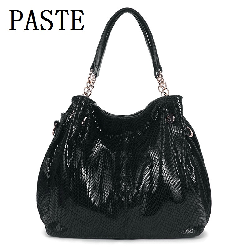 2018 Luxury Brand Ekte Leather Handbags Women Vesker Designer Fashion Ladies Crossbody Vesker For Women Shoulder Chain Vesker X-4