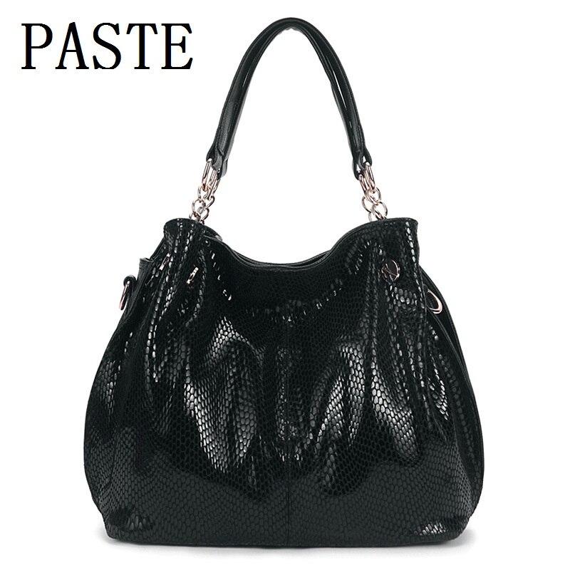 New 2017 New Hot Trend Women Luxury Messenger Shoulder Tote Bag PU Leather Handbag Large Capacity ...