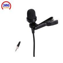 Calidad de sonido superior sistema inalámbrico de micrófono de condensador de solapa lapela microfone para sennheiser trs 3.5mm tornillo jack mikrofon