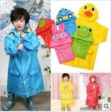 5 pcs/lot Animal Raincoat Linda / Children's Raincoat / Kids Rain Coat / Children's rainwear / Baby Raincoat
