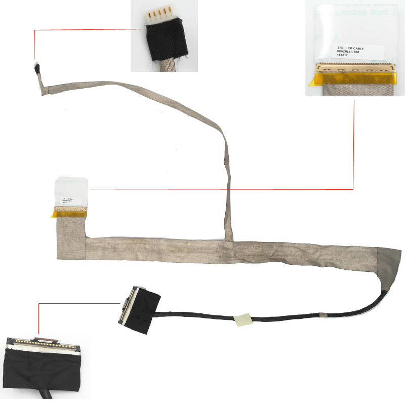 Nyt bærbar kabel til ACER aspire 5349 5749 5349-2899 PN: DD0ZRLLC030 LVDS VIDEO FLEX Ribbon Connector Cable