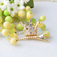 3D Crown Hairpin Princess Hair Clip