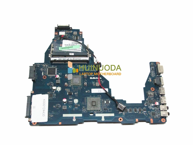 NOKOTION K000124430 For Toshiba Satellite C660 Laptop Motherboard CPU onboard ddr3 PWWBE LA-6849P Main board works nokotion genuine h000064160 main board for toshiba satellite nb15 nb15t laptop motherboard n2810 cpu ddr3