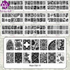 Free Shipping High Quality Lace Major Digit Nail Art Stamp Stamping Image Plate Major 10