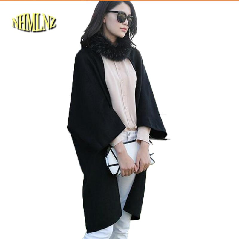 Europe New Style Fashion Women Winter Coat Loose Slim Leisure Coat High-end Double-sided velvet Woolen Cloth Cardigan Coat G2231
