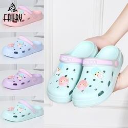 Обувь с отверстиями для медсестер, удобная обувь для больниц на мягкой нескользящей подошве, Женская легкая дышащая обувь для спа-работы