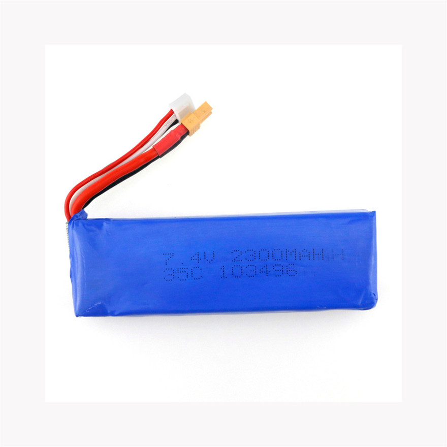 XT30 Plug 7.4V 2300mAh 35C LiPo Battery For MJX Bugs 3 And Other RC Toys Wholesale квадрокоптер mjx bugs 3