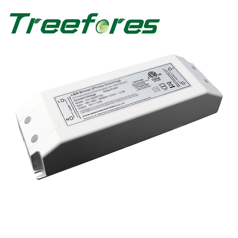 CE UL 30W 60W 80W 100W 120W 150W 200W 300W AC to DC 12V 24V Triac Dimming Power Suppply Leading&Trial Edge Dimmable Transformer