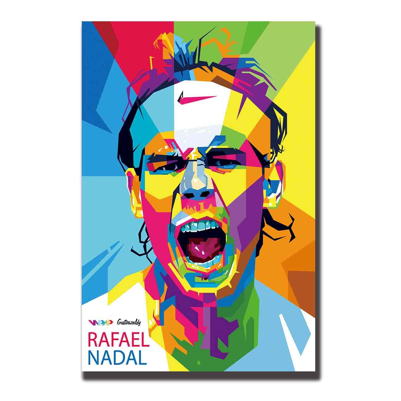 Art Silk Poster Rafael Nadal Top Tennis Player Sports 12x18 24x36 27x40 Canvas Print Stickers Room Decoration Wall Stickers Aliexpress