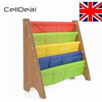 CellDeal Children Kids Book Storge Rack Bookcase Bookshelf Tidy Book Shelf Furniture Shelves for Books Bedroom Shelving